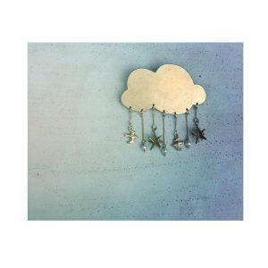 雲のブローチ