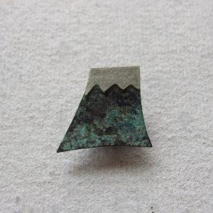 富士山 青い色がなかなか思い通りにはならないけどそれはそれ、一番個性が出てるアイテム