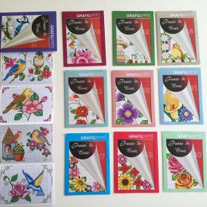 メキシコのクロスステッチ刺しゅう図案集 キッチュでかわいい図案集です。鳥と花がいっぱいです。
