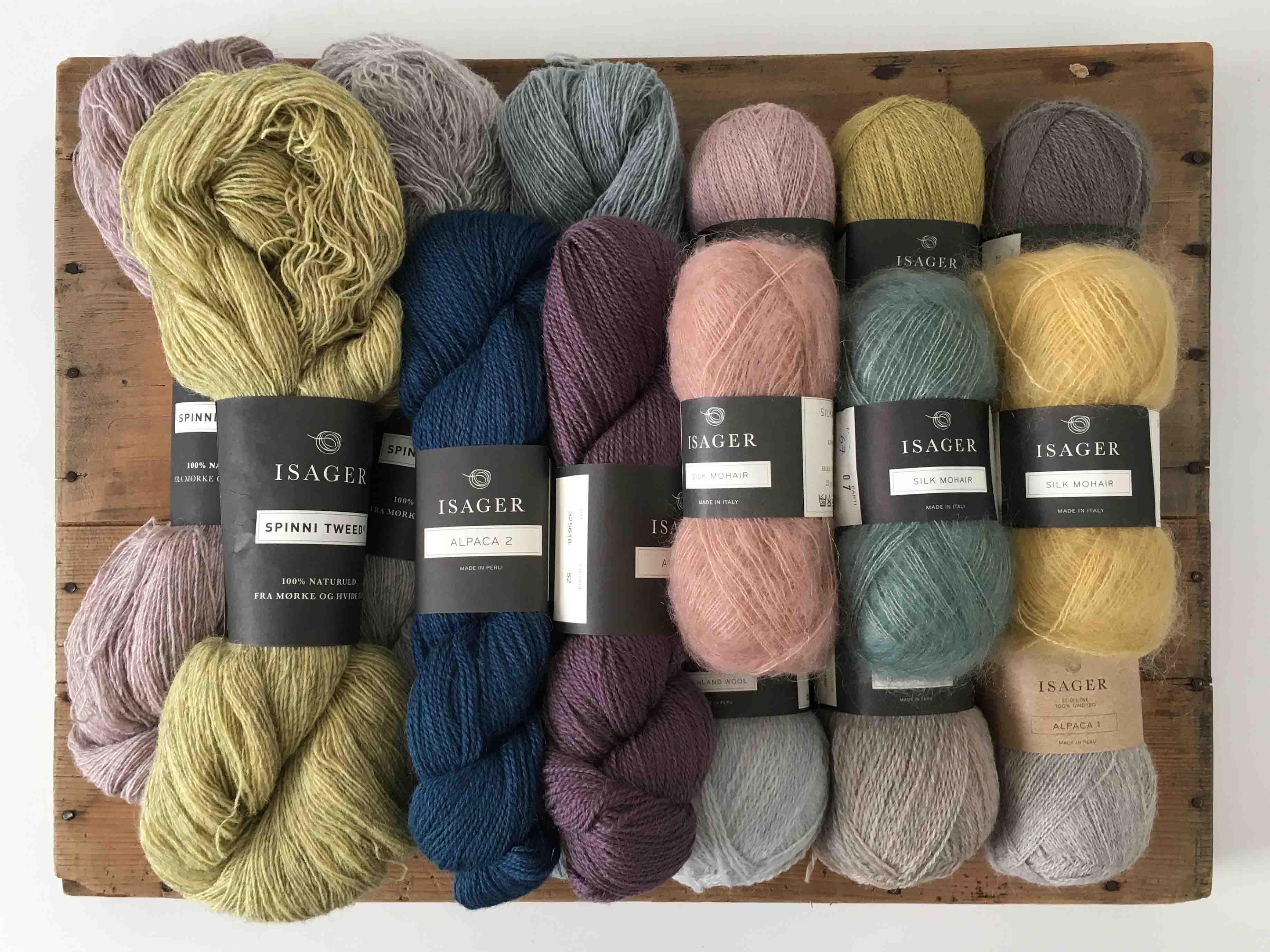 デンマークよりマリアンネイサガーが提案するISAGER毛糸