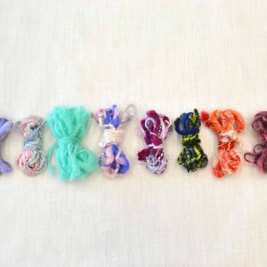 小さな糸の束もたくさん