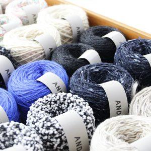 前回の布博でも人気だった毛糸のお買得シリーズです。今回も販売致します。