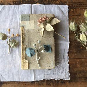 刺繍の実、布の葉。島のあちこちには名前も知らない実がたくさん。