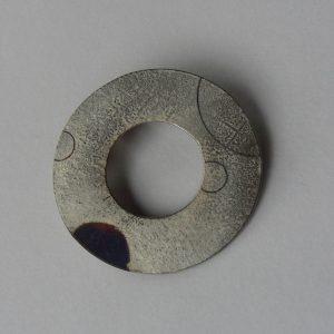ブローチ (銀彩 S)  3.2cm✖️3.2cm  上代 2200円 (税込2376円)