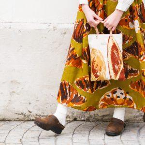Tote bag&Linen skirt