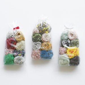 カラフルでかわいい糸がたくさん入ったお得な糸セットです。