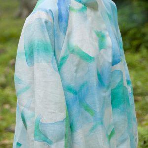 spring•autumn coat/linen100%/batic