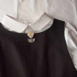 身に着けたいお洋服からイメージして デザインすることが多いです。