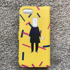 9 iphone case yellow back