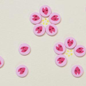 春の訪れをイメージした「さくらの花びら」モチーフを作りましょう。