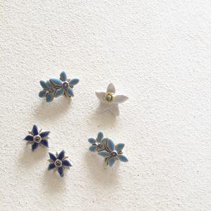 星の形をした花に、なぜか惹かれるのです。