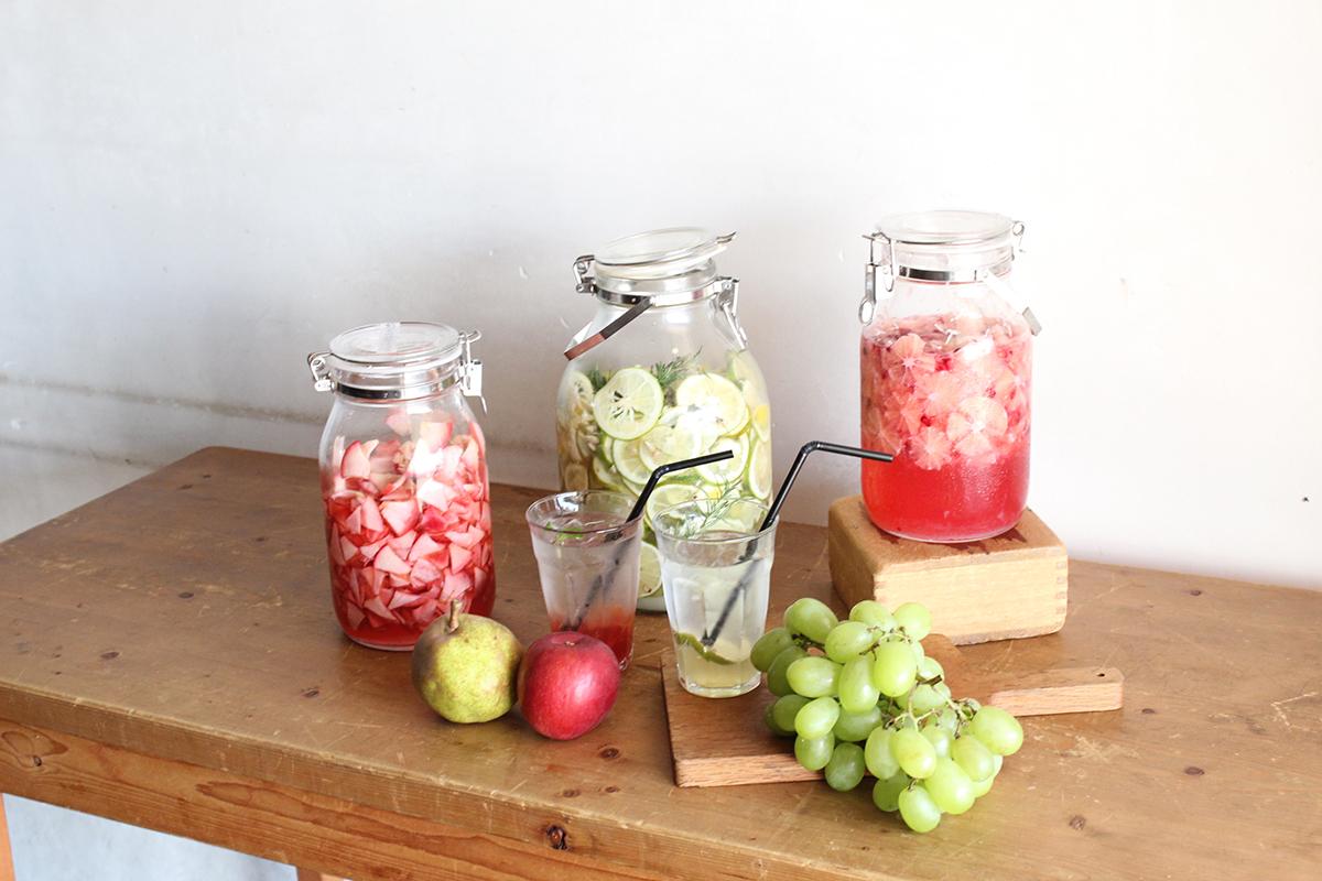 季節の果実シロップ