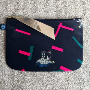 16 POUCH L TRICYCLE PINK NAVY