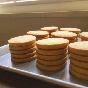 これからの季節はとうもろこしのクッキーが登場。