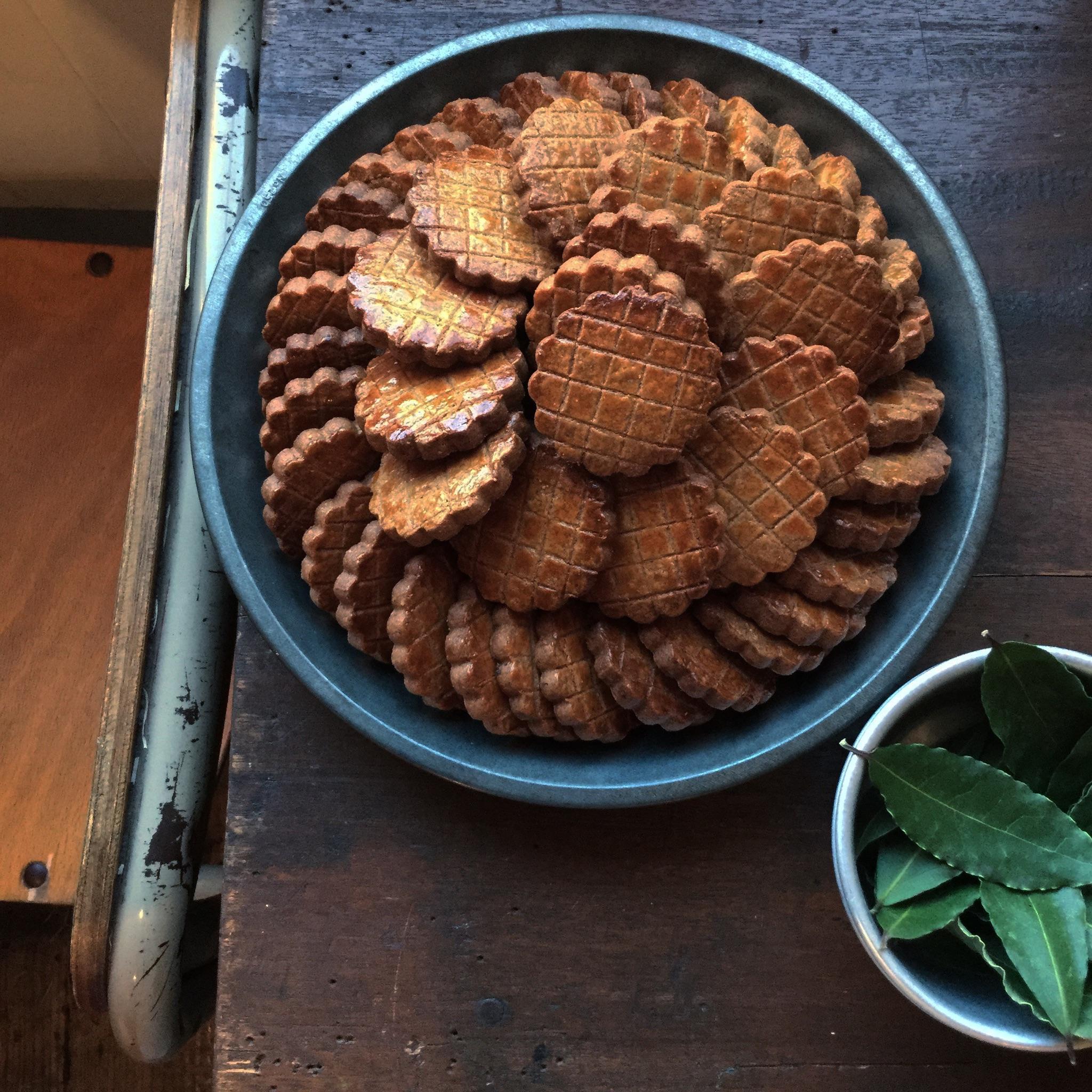 栗のクッキー。