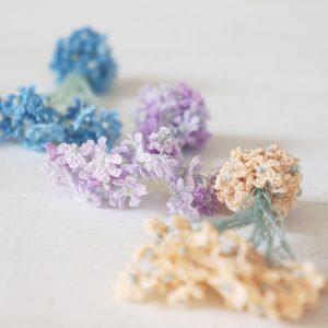 花束の耳飾り