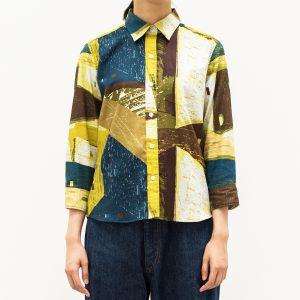 生地「goutei(yellow)」は洋服作りにオススメです。