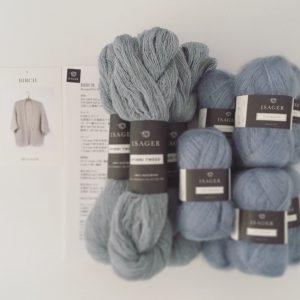 ISAGER毛糸を使用したキット各種もご用意しています。