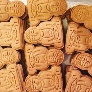 鎌倉店限定の大仏クッキーもお持ちします