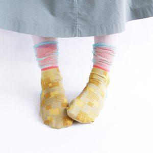 Sunlight block socks/ベージュ